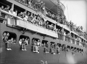 TroopsShipingOut
